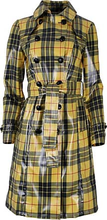 Sahoco Plaid trench coat