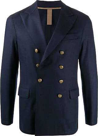 Eleventy double-breasted fitted blazer - Blue