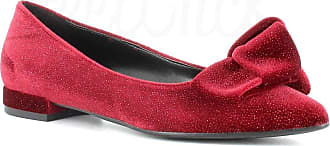 Generico Made in Italy Ballerina with Bow - Bordeaux Size: 5 UK