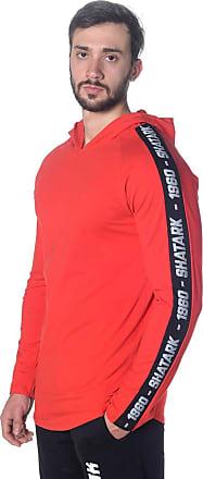 Shatark Blusa Slim Target - Vermelho (GG)