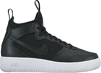 super popular 5154f 58a71 Nike Womens W Air Force 1 Ultraforce Mid Gymnastics Shoes, Black White, 6.5