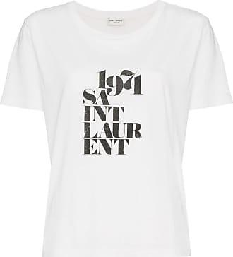 c3532de824 Saint Laurent T-Shirts for Women − Sale: up to −62%   Stylight