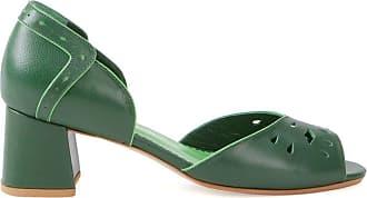 Sarah Chofakian Sapato de couro - Verde