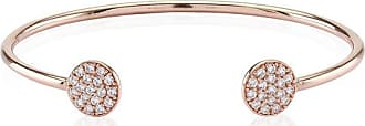 Sif Jakobs Jewellery Bangle Sacile - 18k rose gold plated with white zirconia