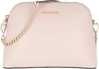 Michael Kors Jet Set LG Zip Dome Crossbody Bag Soft Pink
