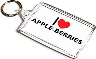 ILoveGifts KEYRING - I Love Apple-Berries - Novelty Food & Drink Gift