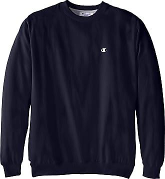 Champion Mens Big-Tall Fleece Crew Sweatshirt - Blue - 6x