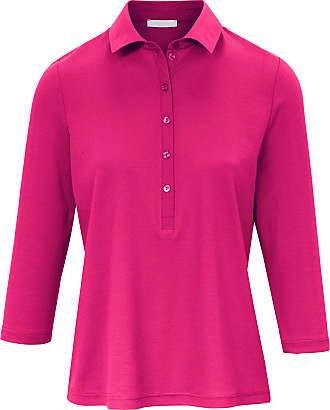 Efixelle Polo shirt 3/4-length sleeves Efixelle bright pink