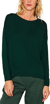 EDC by Esprit Womens 079cc1i006 Jumper, Green (Bottle Green 385), Small
