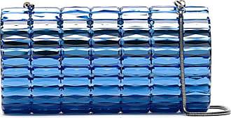 Isla Bolsa clutch de aplicações - Azul