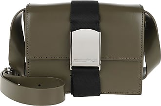 McQ by Alexander McQueen Cross Body Bags - Christine Deluxe Small Crossbody Olive - green - Cross Body Bags for ladies
