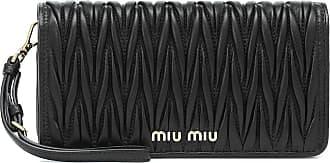 Miu Miu Clutch portafoglio in pelle matelassé