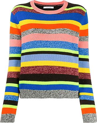 Chinti and Parker Suéter de tricô com listras - Azul