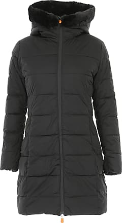 Save The Duck Womens Coat On Sale, Black, polyester, 2017, 2 (M - 42/44)