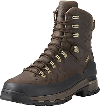 Ariat Mens Catalyst VX Defiant 8 Gore-Tex 400g Hunting Boots in Bitter Brown Leather, D Medium Width, Size 10.5, by Ariat
