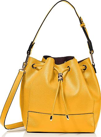 Hotter Womens Grace Shoulder Bag, Yellow (Mustard), 24.5x26x60 cm (W x H x L)