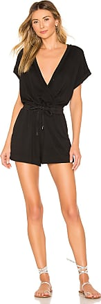 Splendid French Terry Romper in Black