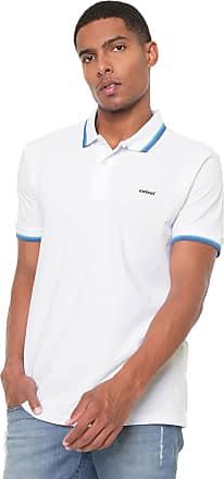 6e32f5483d Colcci Camisa Polo Colcci Reta Básica Branca