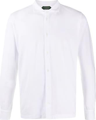 Zanone Camisa reta - Branco