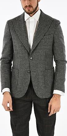 Corneliani CC COLLECTION giacca a 2 bottoni tattersall check due spacch taglia 50