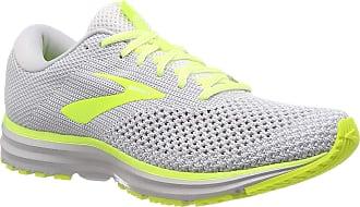 Brooks Mens Revel 2 Running Shoes, Multicolour (Grey/Black/Nightlife 099), 11.5 UK