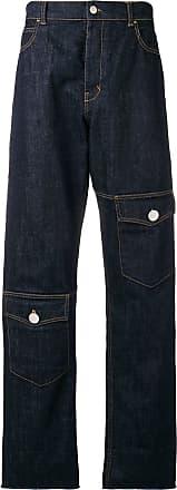 J.W.Anderson Calça jeans reta - Azul