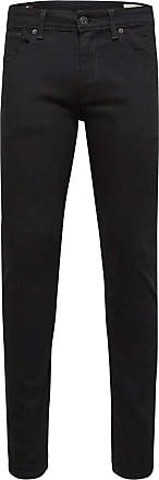 Selected Homme Mens Shnslim-Leon 1001 Black St JNS Noos Slim Jeans, W34/L34 (Size: 34)