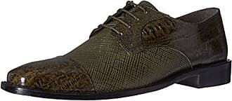 Stacy Adams Stacy Adams Mens Gatto Leather Sole Cap Toe Oxford, Olive, 8 M US