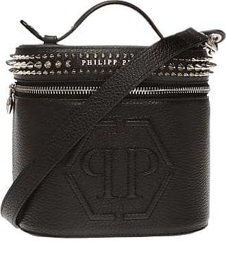 Philipp Plein Studded Shoulder Bag Womens Black