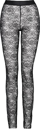 Wolford Womens Lace Leggings black 38
