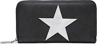 Craze London Womens Small Clutch, Wristlet, Ladies Hand Purse Bag Card Holder Pouch For Smart-phone with Zipper Pocket Clutch Bags (Black)