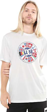 DC Camiseta DC Shoes Intil Branca