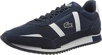 Lacoste Mens Partner Retro 120 1 SMA Trainers, Blue (NVY/Wht 092), 10 UK