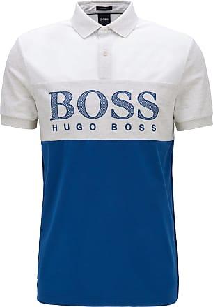 HUGO BOSS Polo Pavel Bicolor - Homem - Azul - XXXL DE
