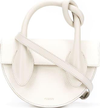 Yuzefi Dolores Handtasche mit Knoten-Detail - Weiß