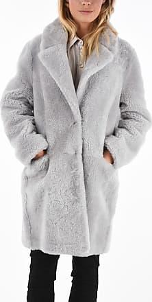 Fabiana Filippi Shearling Real Fur Coat size 40