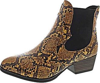 Tamaris Damen Stiefeletten 25012 Chealsea Boots Black Uni (schwarz)