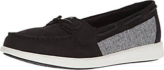 Sperry Top-Sider Womens Oasis Loft Boat Shoe, Black Chambray, 9 Medium US