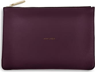 Katie Loxton Perfect Pouch Clutch Bag Burgundy Red - ARM CANDY(Size: S)