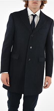 Corneliani 3 Button twill chesterfield coat size 52
