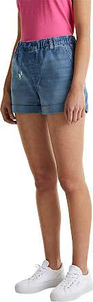 EDC by Esprit Womens 040cc1c306 Denim Shorts, 902/Blue Medium Wash, 28