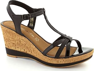 Sandaletter Med Kilklack  Köp 622 Märken upp till −71%  9798c014ef7af