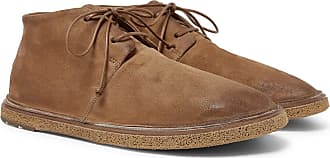 Marsèll Stag Suede Chukka Boots - Brown