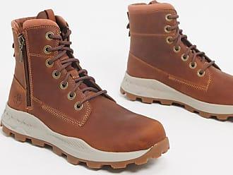 Timberland Brooklyn side zip boots in tan