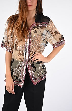 Dries Van Noten Silk Blouse with Sequins size 40
