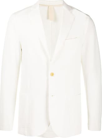 Eleventy single-breasted fitted blazer - White