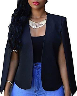 cd6fdf7659ed56 Juleya Frauen Herbst Poncho Cape - Damen Open Front Cloak Jacke Mantel  Gilet Cardigan Plus Größe