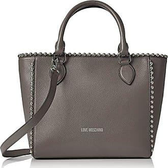 Love Moschino Borsa Vitello Pebble Grigio - Borse a spalla Donna 783bca5d2df