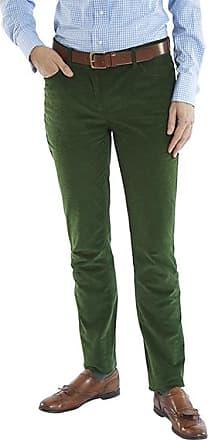 Franken & Cie. Corduroy trousers, green