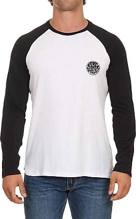 Rip Curl Mens Dress Shirt, Black White, X-Large